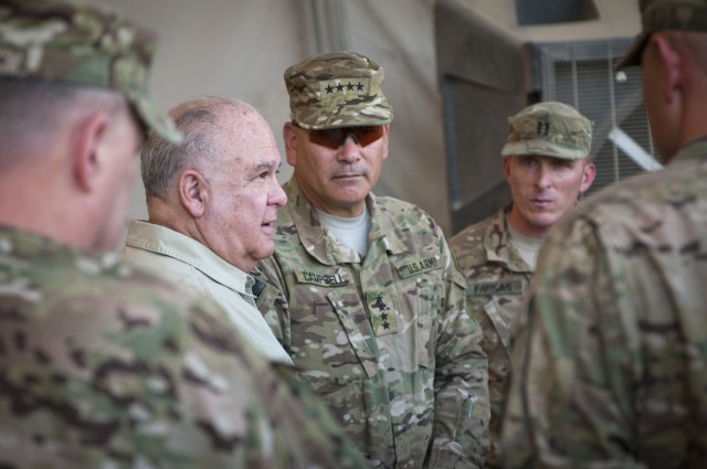 Army under secretary and vice chief: Support for deployed Troops is the Army's #1 priority