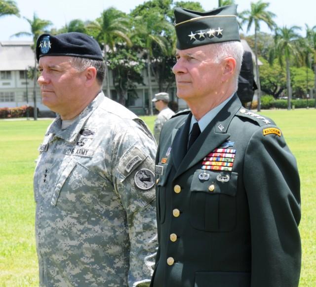 USARPAC CG Retirement Ceremony
