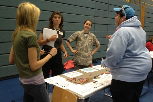 Red Cross volunteers were on hand to inform and educate the Bamberg community during the Ready and Resilient Community Health Fair, held at the Freedom Fitness Facility on May 31.