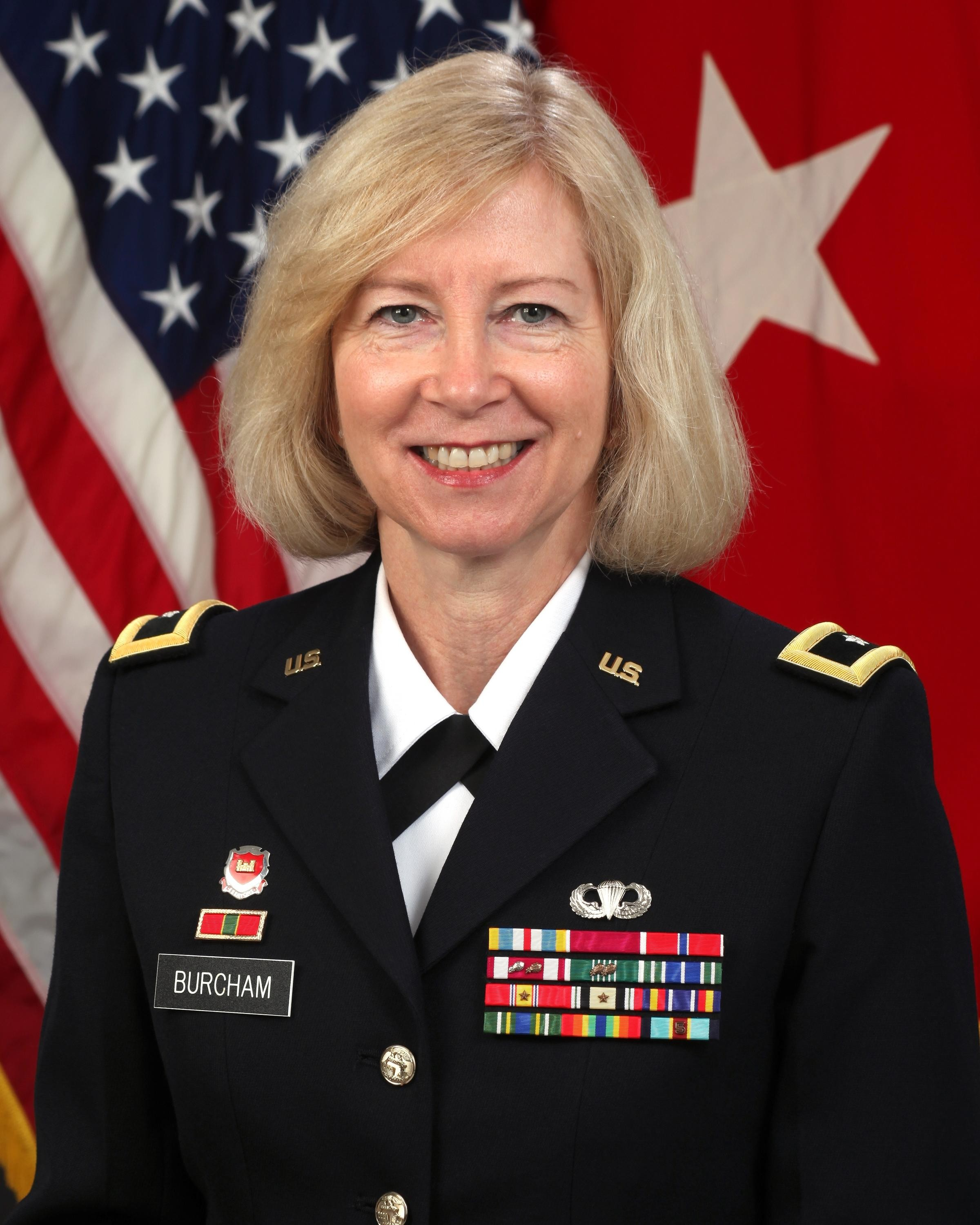 Burcham becomes first female General Officer on the Mississippi River ...