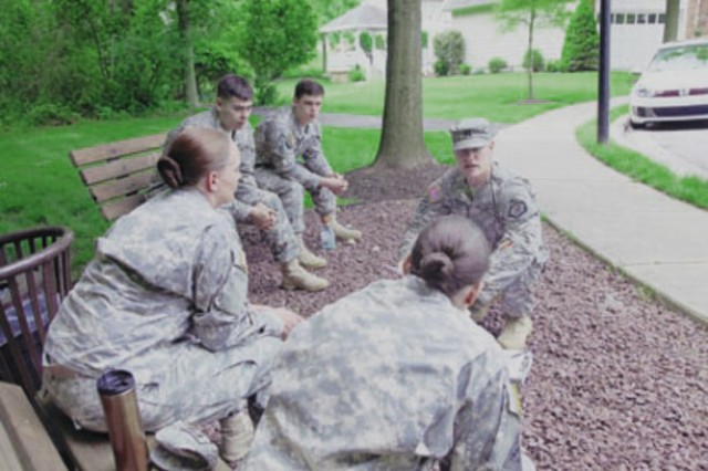 Members of 742nd MI trained to better care for one another in event of tragedy