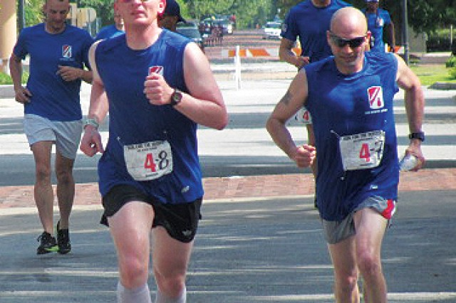 192nd Infantry Brigade earns top honors at Run for the Heroes