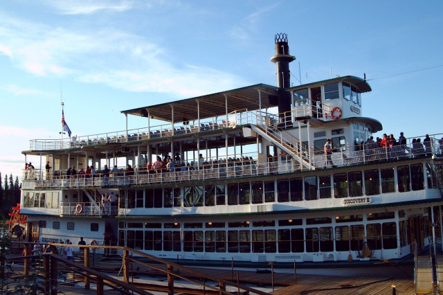 The Association of the United States Army Polar Bear chapter will join Soldiers and Families in a two-hour dinner cruise aboard the Riverboat Discovery on the Chena River to celebrate the Army Birthday June 14.
