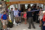 Ribbon cutting held for warrior retreat by waters of Skiatook Lake