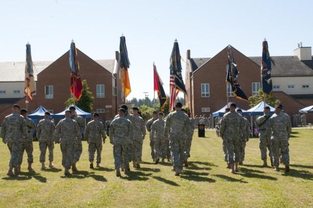 Battalion and brigade commander lead