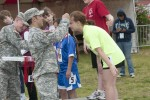 Special Olympians touch Soldiers hearts