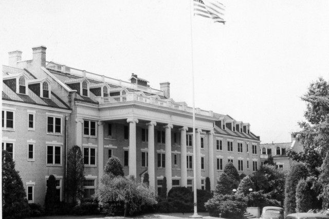 Arlington Hall in 1942.