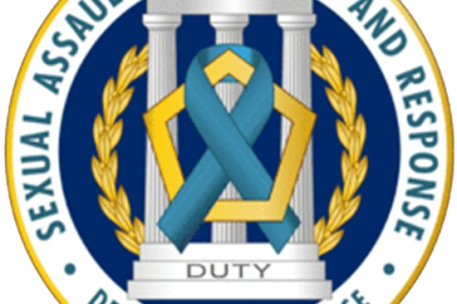 The seal of the Department of Defense Sexual Assault Prevention and Response Office.