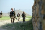 Easy Company supports ANSF mission