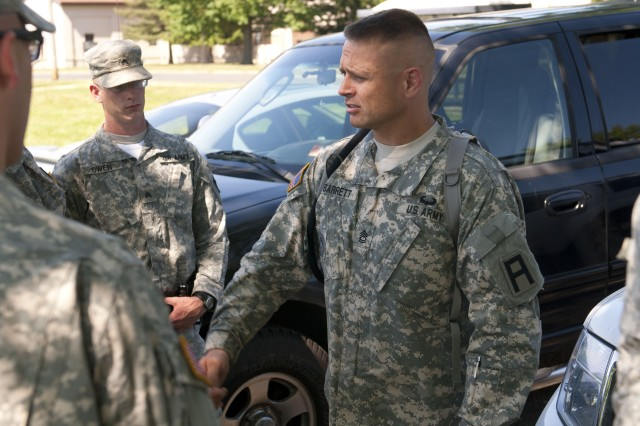 Guardsmen train for upcoming law and order mission | Article | The ...