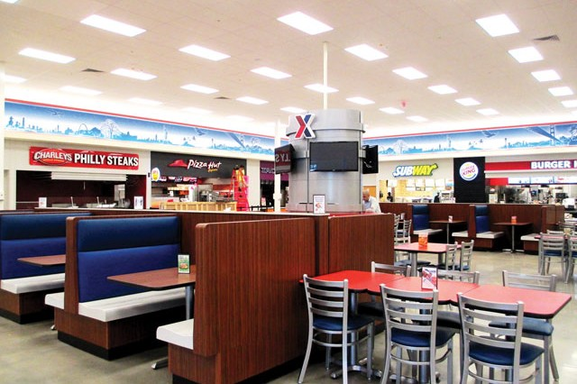 The new Excahnge features a new food court.