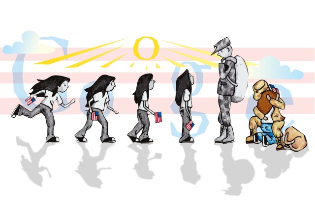 Sabrina Brady's winning entry in the U.S. Doodle4Google contest.