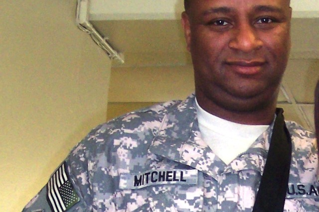 Rickey Mitchell, recently retired, currently works overseas in Jordan as an instructor for high mobility artillery rocket systems. Mitchell overcame difficulty finding a job during his transition to civilian life, but was able to obtain contractual employment with a company based in Orlando, Fla.