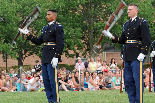 Army Drill Team Duo