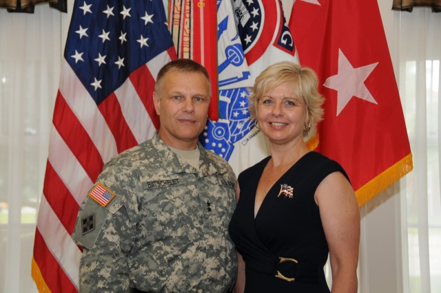 USAREC Commanding General Maj. Gen. Allen W. Batschelet and his wife Terri.