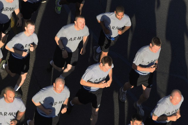 NTC units run for Army Birthday