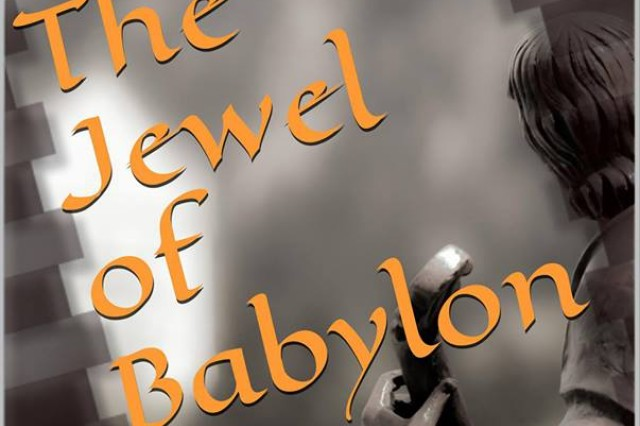 """Sgt. Jacob R. Hammes, 2nd Cavalry Regiment, recently published """"The Jewel of Babylon (A File From the Unusual Operations Division)"""" about a Special Forces agent working for the U.S. government who goes on a killing spree. The book is currently available for download via amazon.com."""