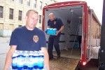 Bottled water drive supports military homecoming, other USO events