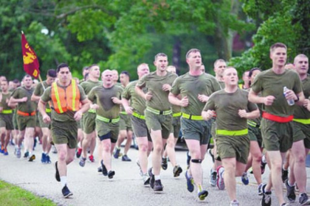 Fort Meade Celebrates Army Birthday with Resiliency Run