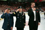 Salute at Chicago Blackhawks