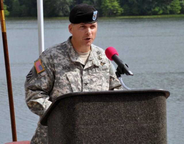 Col. Dixon Becomes 16th CAAA Commander