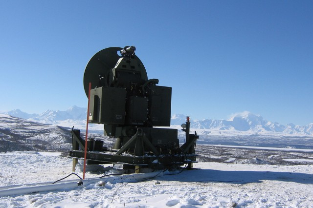 Members of Team Tobyhanna worked in frigid temperatures at a remote location in the Alaska wilderness while completing the final phase of the first overhaul of the Air Force UMTE training system.