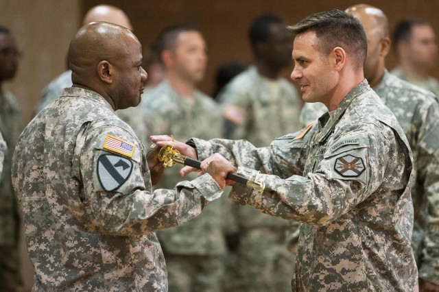 Headquarters Command Battalion welcomes new CSM
