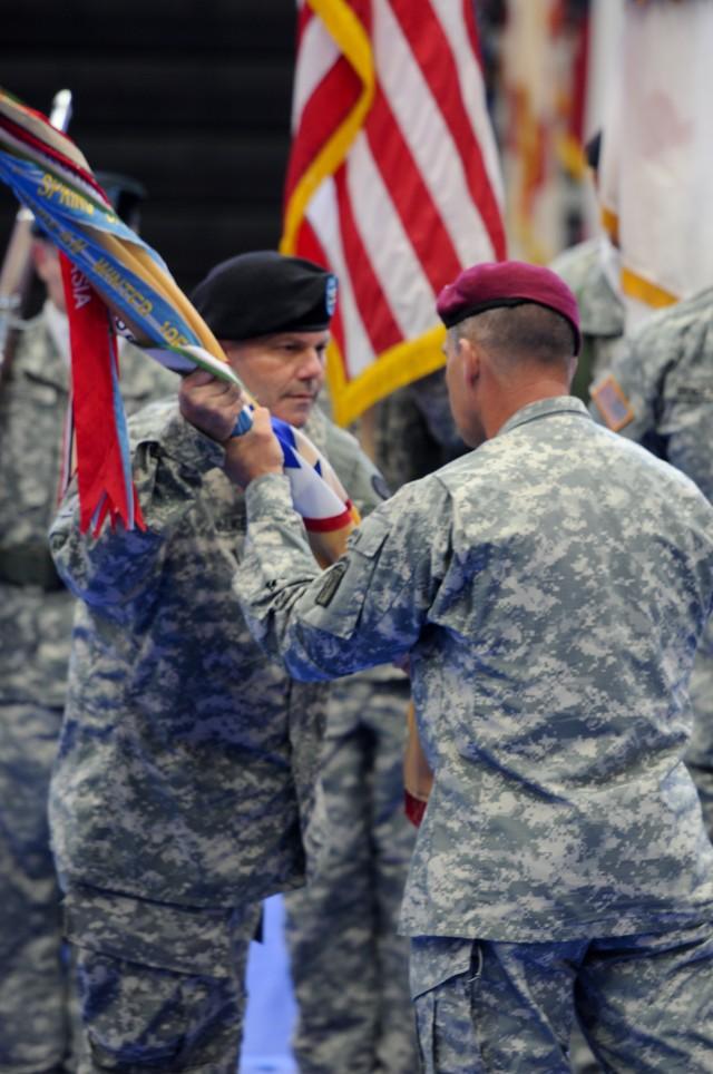 3d ESC Change of Command Ceremony