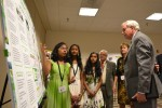 Students share STEM project