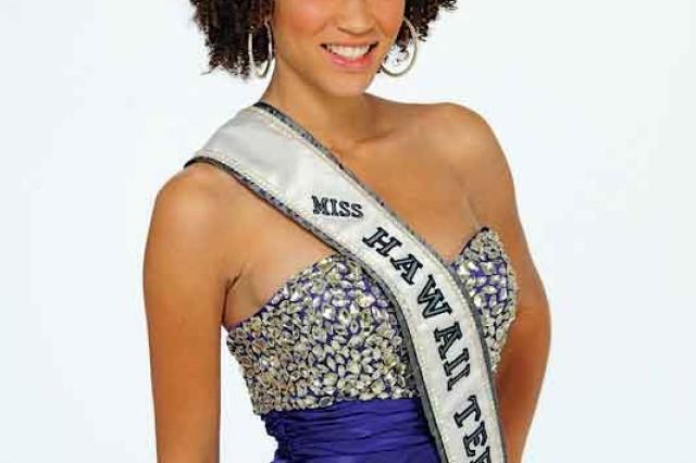 Samantha Neyland is the current Miss Hawaii Teen USA.