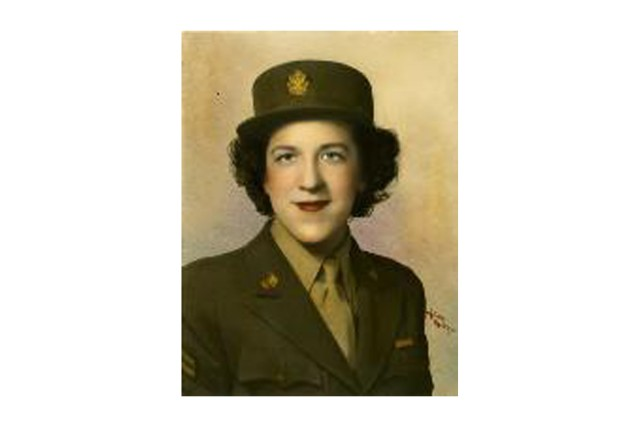 Joan De Munbrun joined the Army as a WAC in 1942. She turned 100 this year, just a day after the Army's own 238th birthday.