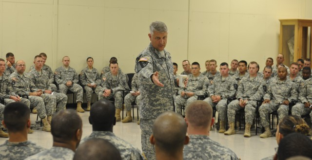 SMA: Review of standards first step in 'Soldier 2020'