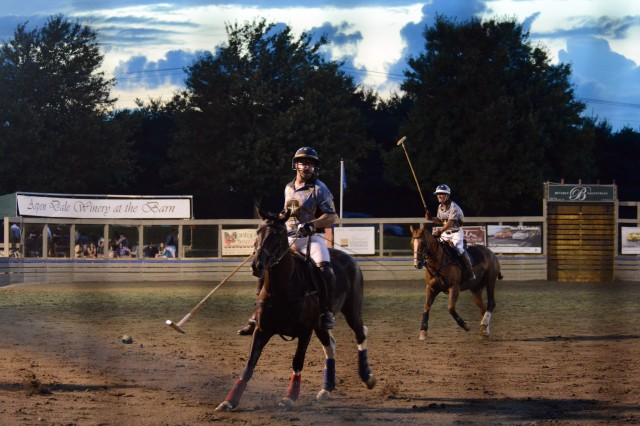 Army, Navy veterans play in friendly polo match, honor those who have served