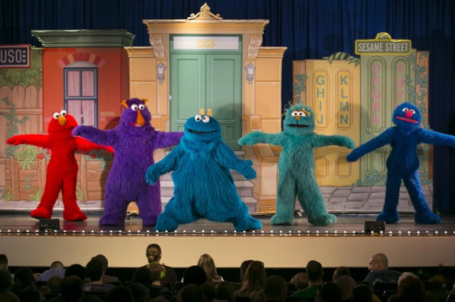 The USO's longest running, free traveling tour based on Sesame Street's military family initiative will showcase at the Ledward Activity Center, July 14 and 15, both shows at 2 p.m.