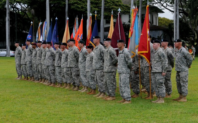 Gen Brooks assumes command at official Flying V ceremony