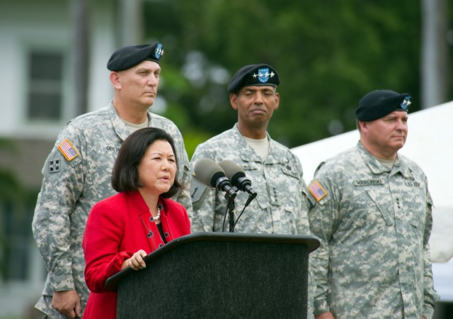 U.S. Army Pacific Change of Command