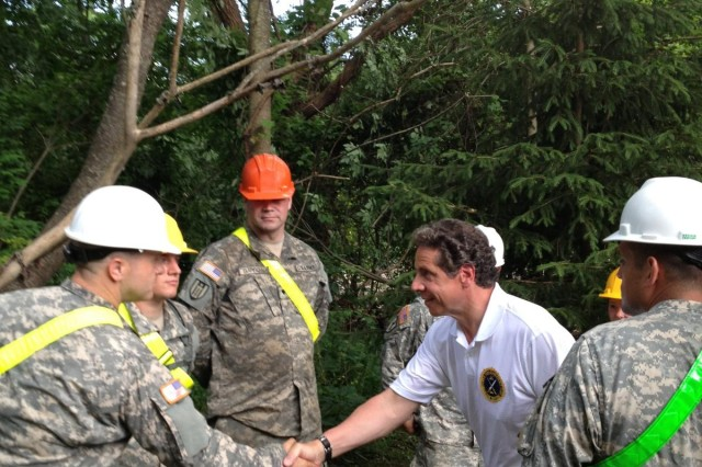 New York National Guard responds to Mohawk Valley floods