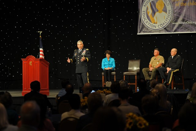 Vice Chief Speaks at Military Child Education Coalition