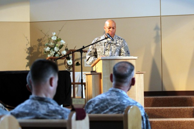Chaplain finds 'Lord's purpose' that, again, leads to 7ID