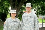 Army couple aids victim of motorcycle accident