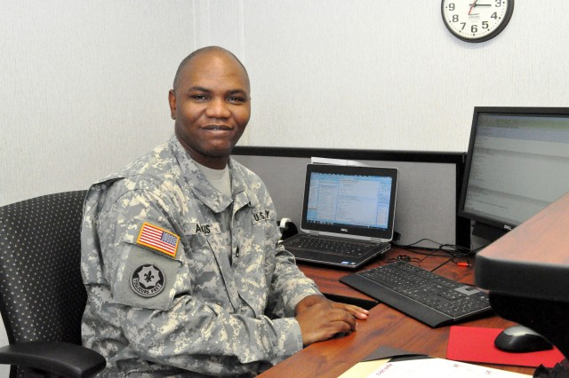Staff Sgt. Jeanmarie Alexis is the chaplain assistant for the Expeditionary Contracting Command at Redstone Arsenal, Ala.