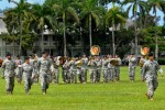 516th Signal Brigade change of command ceremony