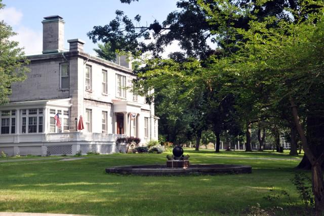 Quarters 1 has housed Watervliet Arsenal, N.Y., commanders since 1842.