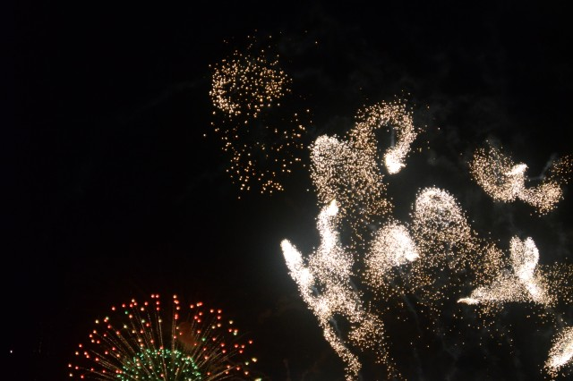 The event was capped off by a 30-minute fireworks show.
