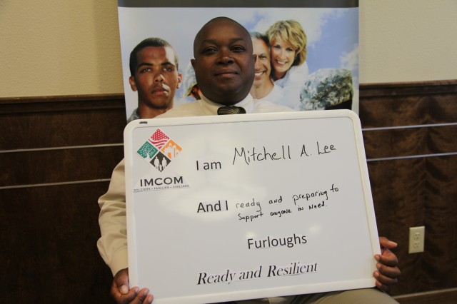 Mitchell is  resilient and ready to face 11 weeks of furloughs at the end of FY 2013.  IMCOM officials have send emails, conducted town halls and held training sessions to help prepare those affected to better weather the impact.