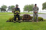 Fort Hamilton dedicates Bluff to fallen Soldier