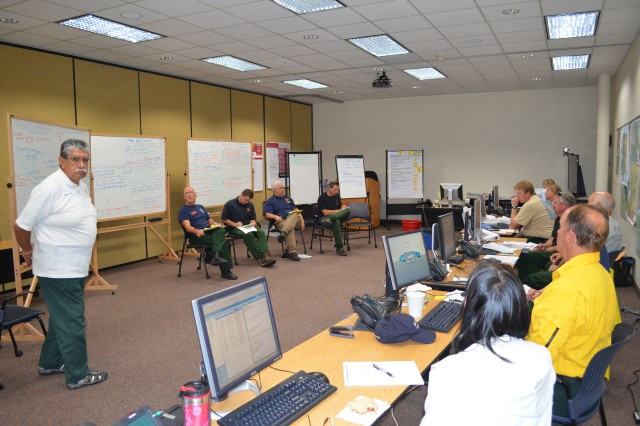 Public information professionals from Alaska and the Lower 48 assembled in the Bureau of Land Management as a Joint Information Center was activated July 2. Members of the JIC used their expertise to answer questions and provide direction to citizens threatened by the Stuart Creek 2 Fire.