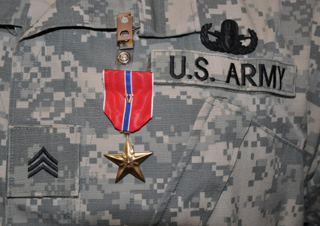 New York Army National Guard sergeant recognized for courage under fire