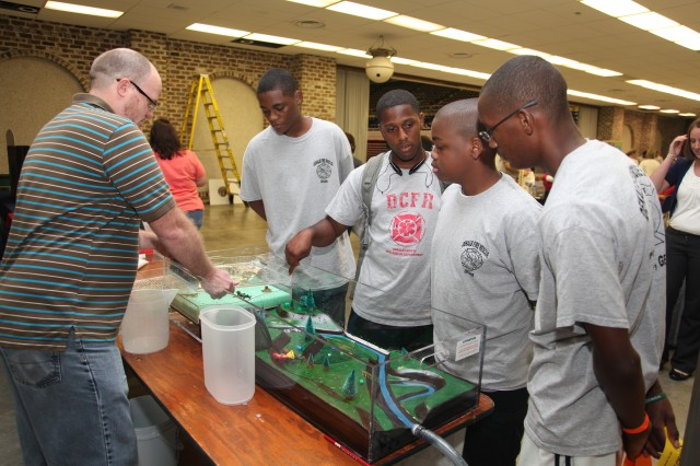 Corps talks STEM at Boy Scouts Summerfest