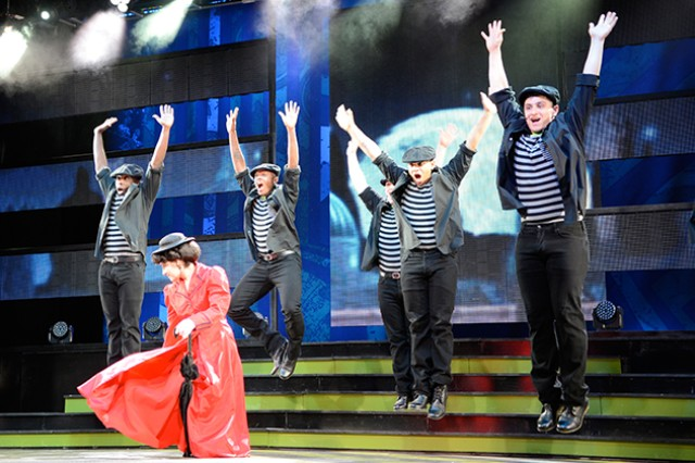 The 2013 Army Soldier Show performs at the Fort Sam Houston Theatre April 21 to the theme of Merry Poppins. The show will come to the Wiregrass Aug. 2 at 7 p.m. and Aug. 3 at 2:30 p.m. at the Performing Arts Center at Enterprise High School.